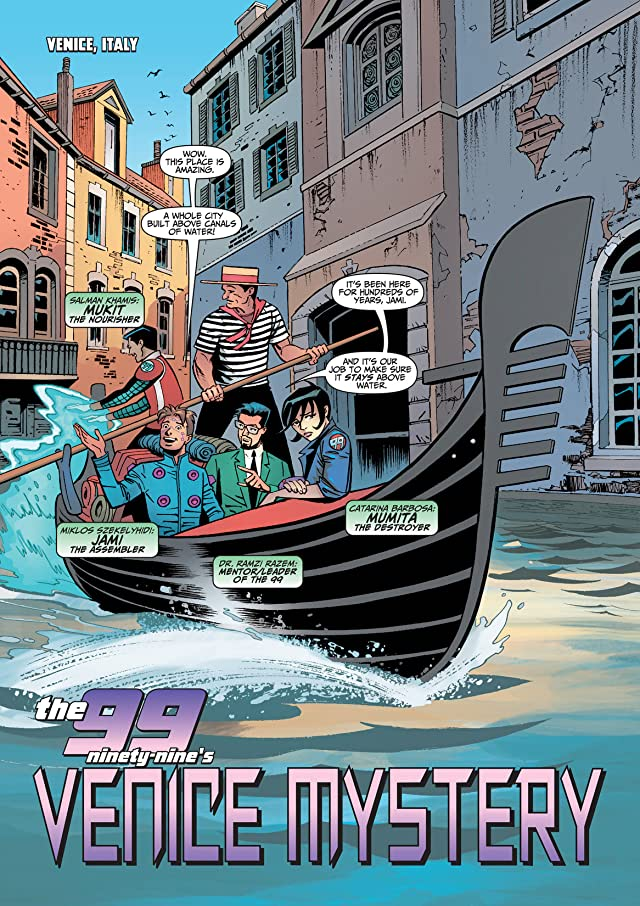 click for super-sized previews of THE 99 #31