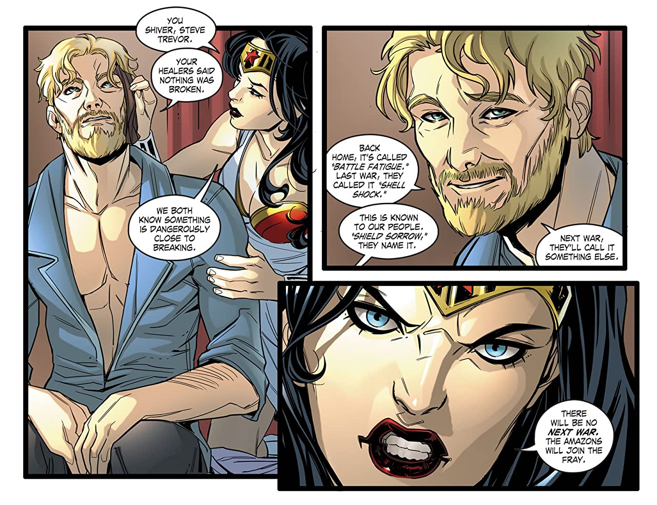 DC Comics: Bombshells (2015-) #4