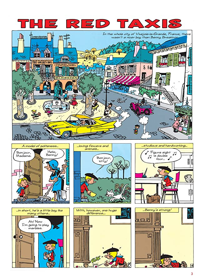 click for super-sized previews of Benny Breakiron Vol. 1: The Red Taxis Preview