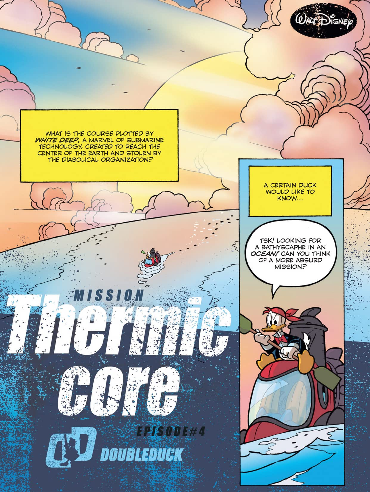 DoubleDuck #8: Mission Thermic Core #4