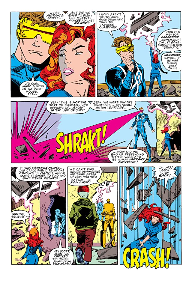 click for super-sized previews of X-Factor (1986-1998) #19