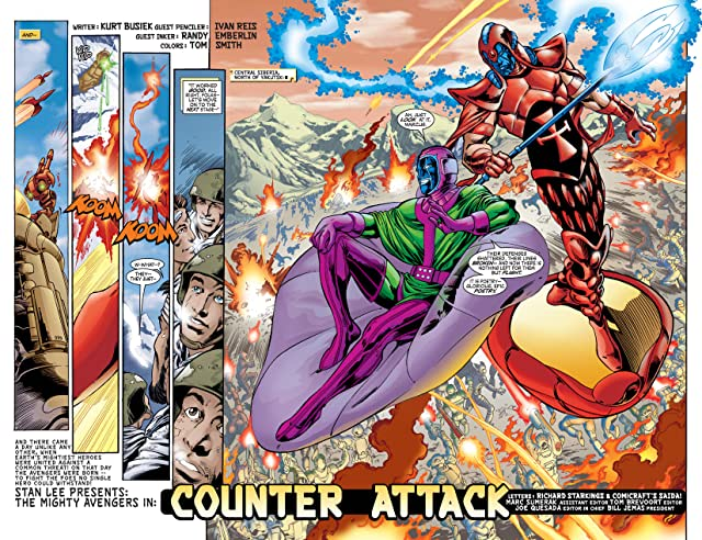 click for super-sized previews of Avengers (1998-2004) #52