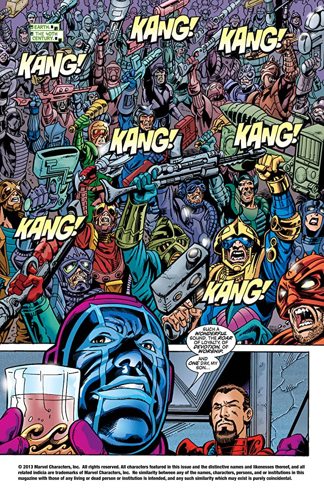 click for super-sized previews of Avengers (1998-2004) #45