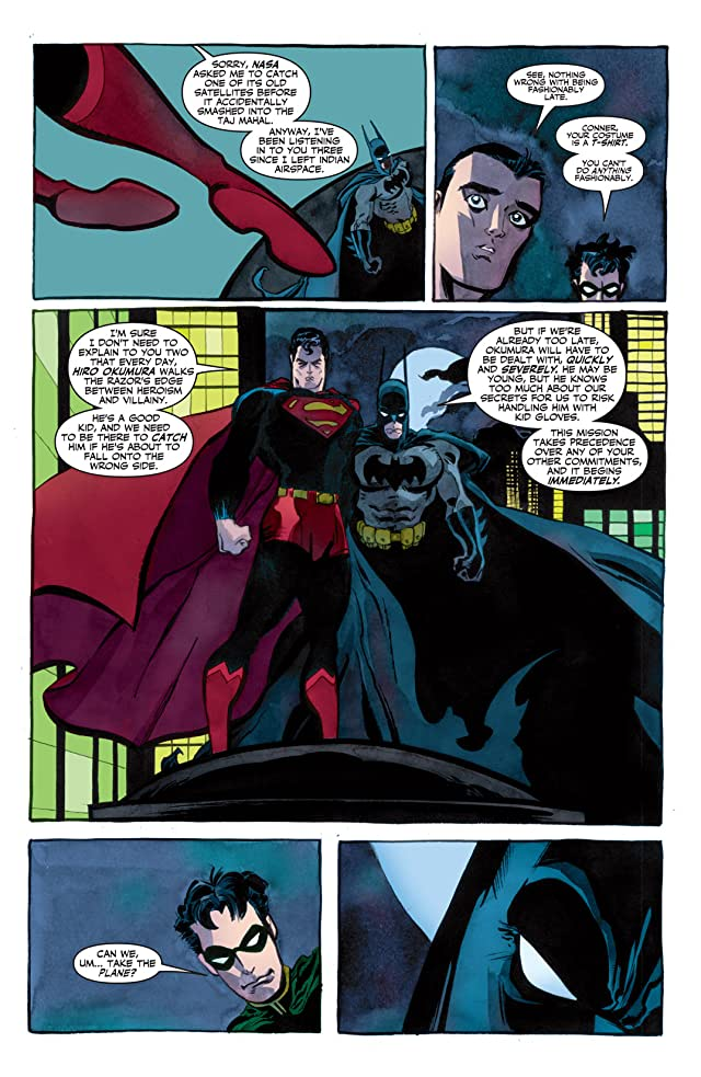 click for super-sized previews of Superman/Batman #26