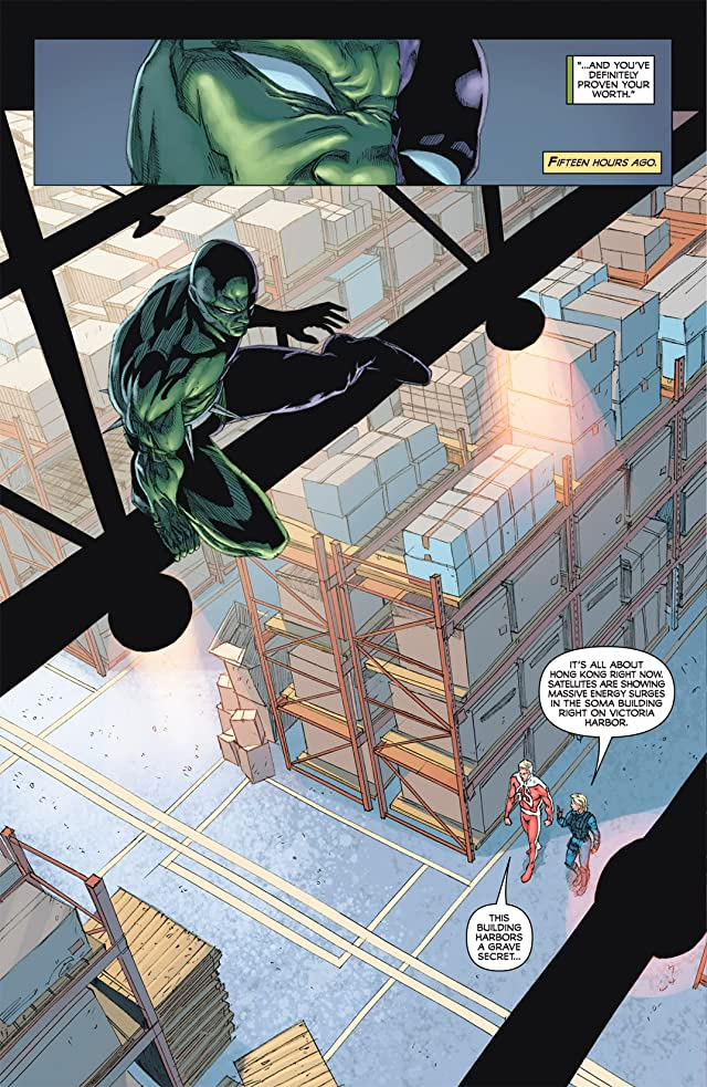 click for super-sized previews of The Death-Defying Devil #3