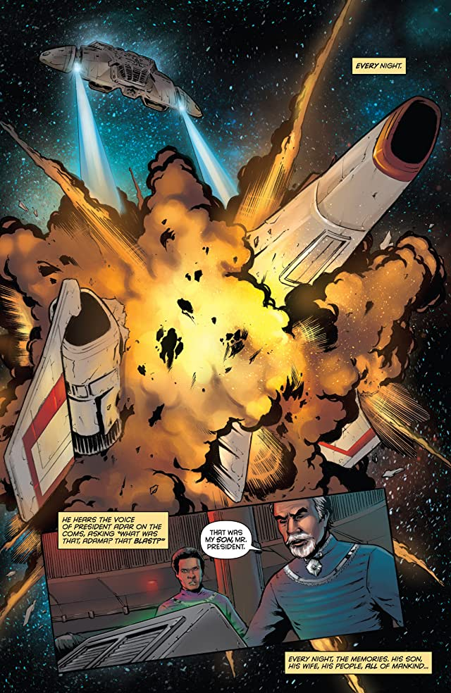 click for super-sized previews of Classic Battlestar Galactica Vol. 2 #1: Digital Exclusive Edition