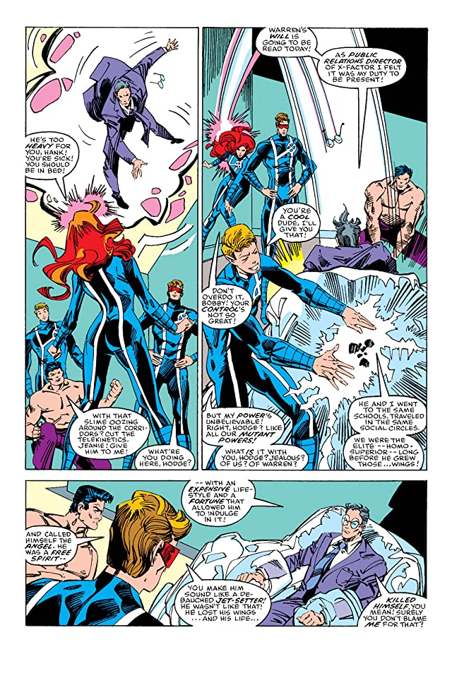 click for super-sized previews of X-Factor (1986-1998) #21