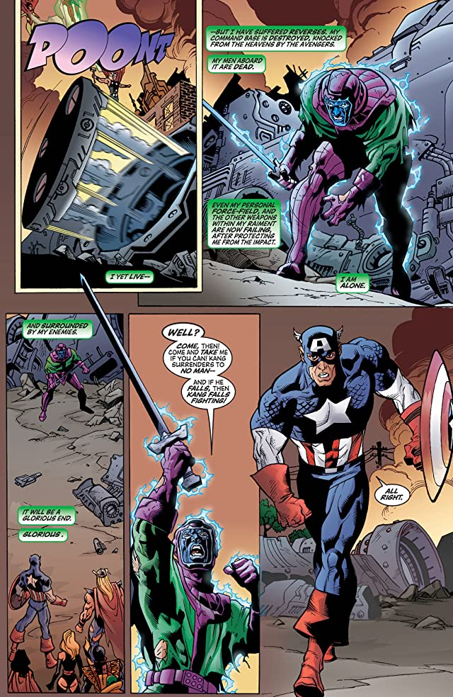 click for super-sized previews of Avengers (1998-2004) #54