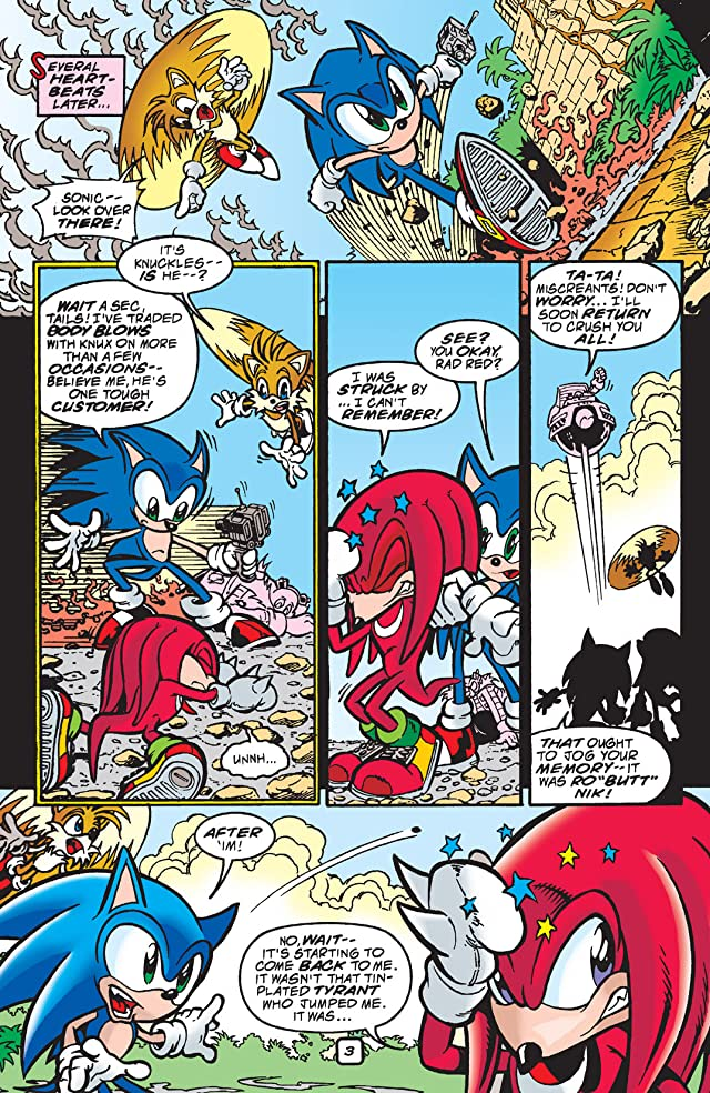 click for super-sized previews of Sonic the Hedgehog #83