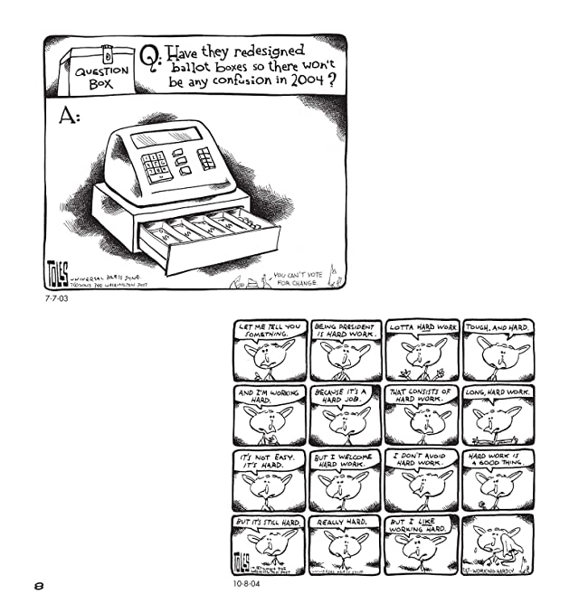 click for super-sized previews of NOW Who Do We Blame?: Political Cartoons by Tom Toles
