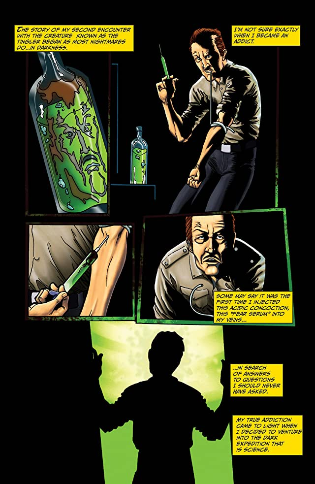 click for super-sized previews of Vincent Price Presents: The Tingler #1