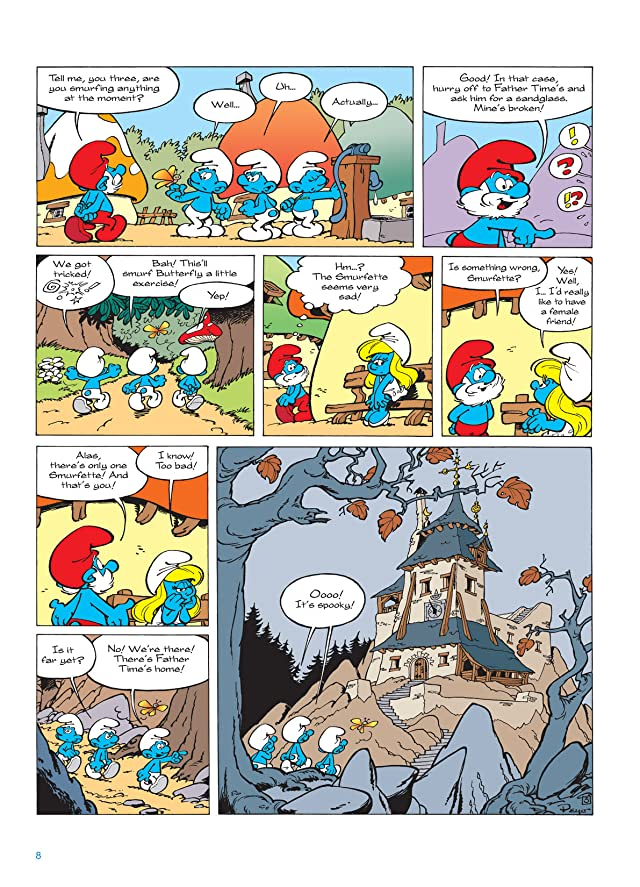 click for super-sized previews of The Smurfs Vol. 15: The Smurflings Preview