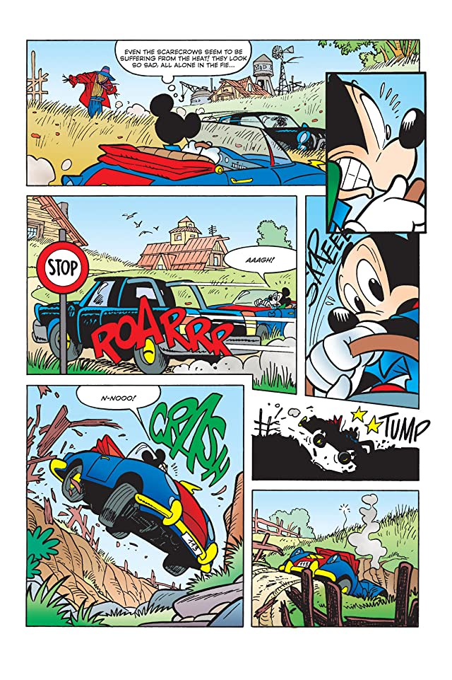 click for super-sized previews of X-Mickey #5: Before the Break of Day