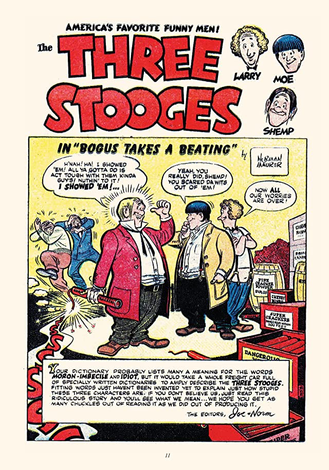 click for super-sized previews of Best of the Three Stooges