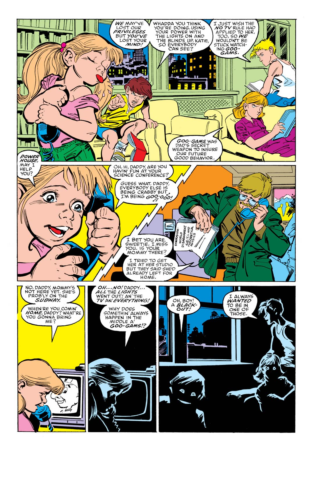 Power Pack (1984-1991) #35