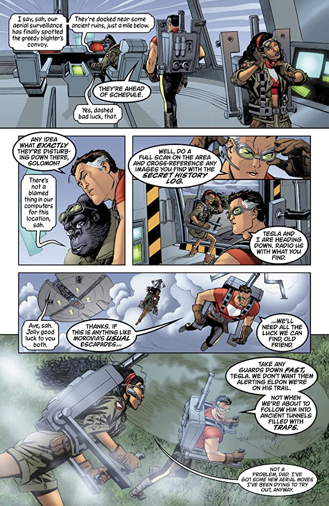 click for super-sized previews of Tom Strong #29