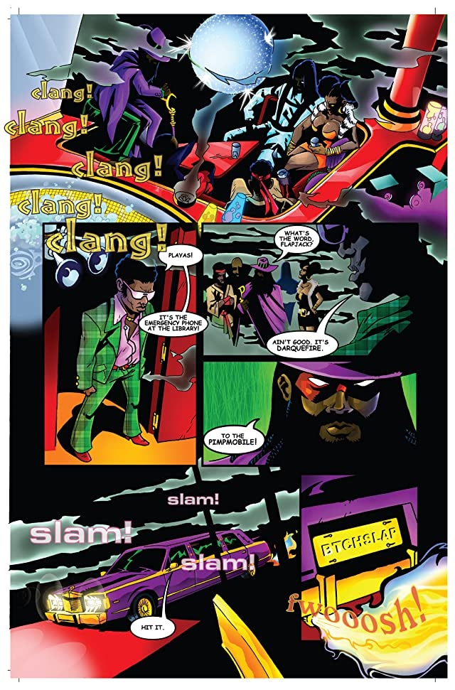 click for super-sized previews of Return of the Super Pimps #1