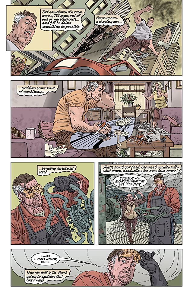 click for super-sized previews of Tom Strong #30
