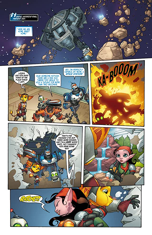 click for super-sized previews of Ratchet & Clank #3 (of 6)