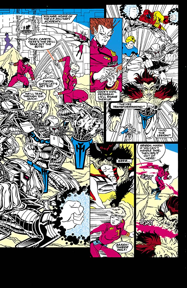 Legion of Super-Heroes (1989-2000) #57