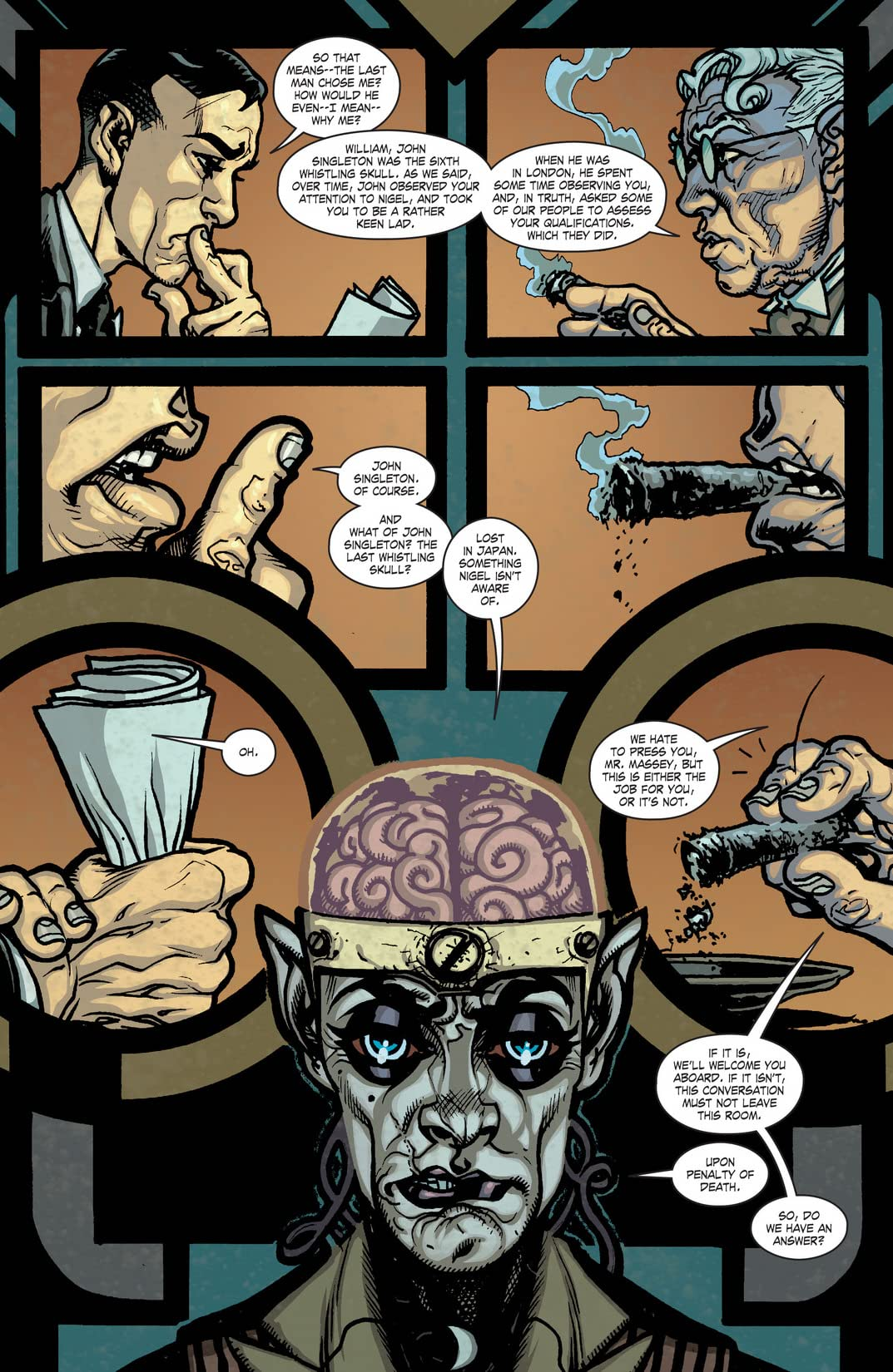 JSA Liberty Files: The Whistling Skull (2012) #6 (of 6)