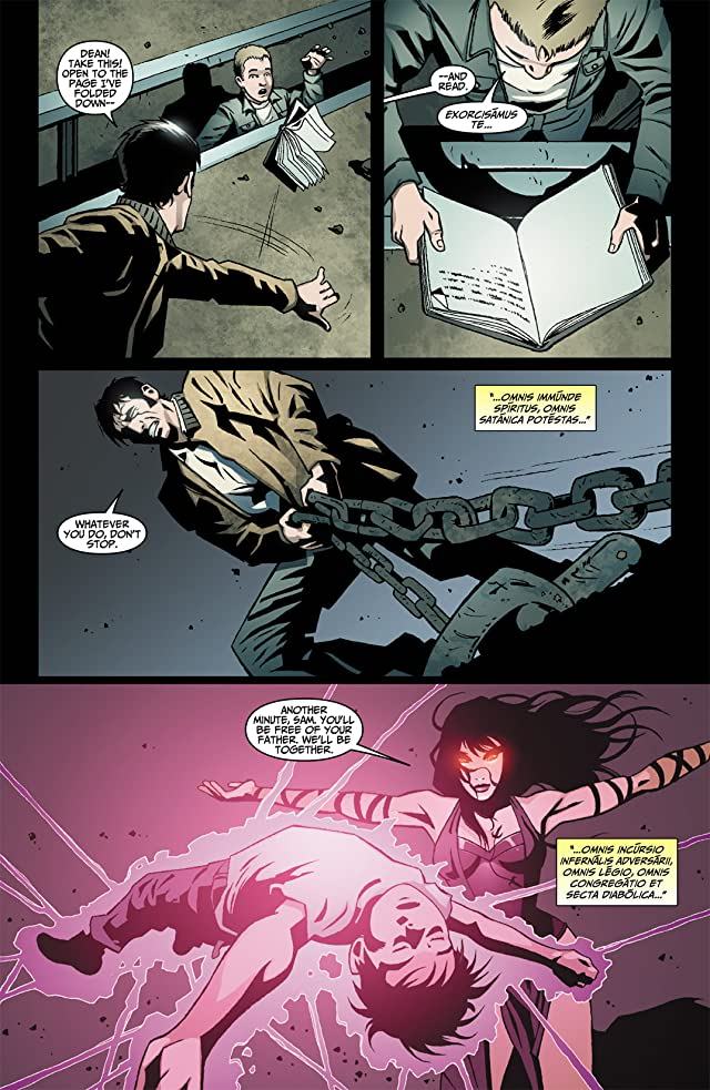 click for super-sized previews of Supernatural: Rising Son #3
