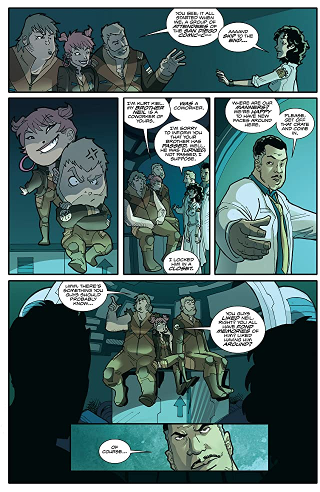 click for super-sized previews of Fanboys vs. Zombies #14