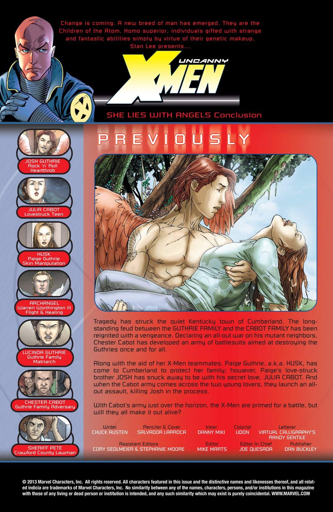 Uncanny X-Men (1963-2011) #441