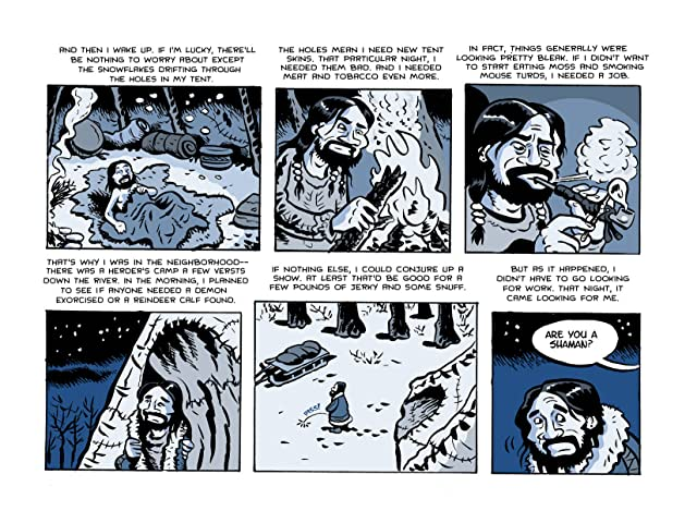 click for super-sized previews of Muktuk Wolfsbreath, Hard Boiled Shaman: The Spirit of Boo