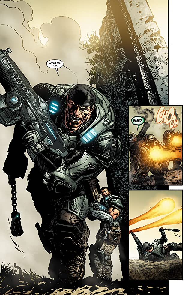 click for super-sized previews of Gears of War #2