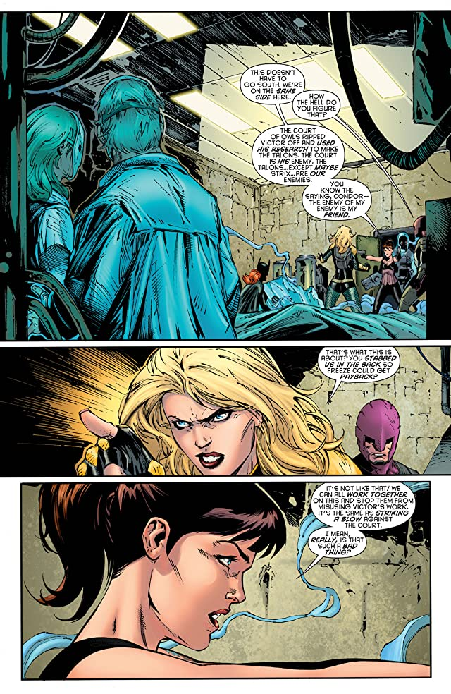 click for super-sized previews of Birds of Prey (2011-2014) #20