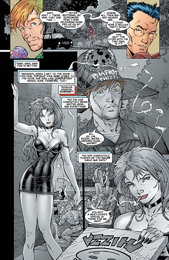 click for super-sized previews of Divine Right #1