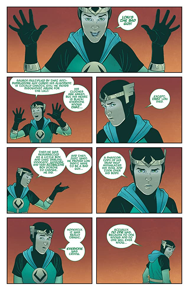 click for super-sized previews of Young Avengers (2013) #5