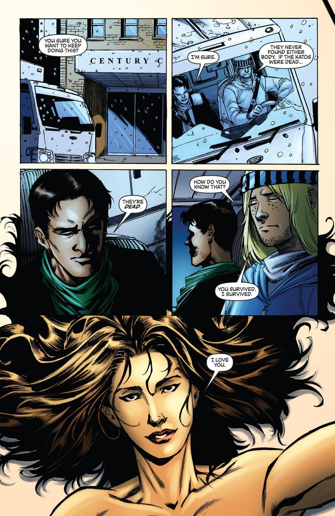 Green Hornet: Legacy #36
