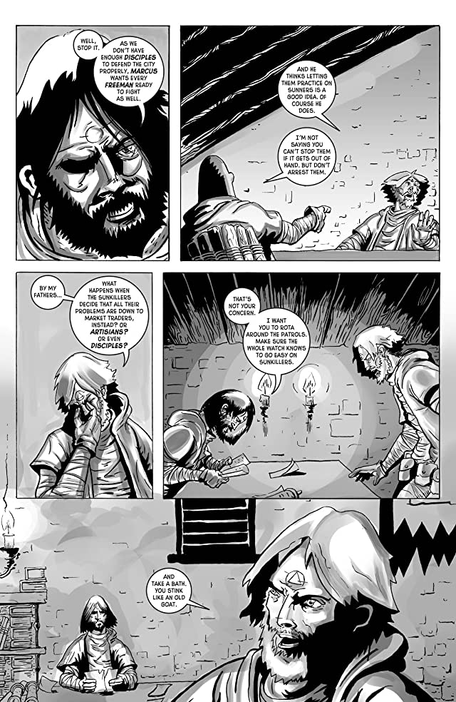 click for super-sized previews of Wasteland #45