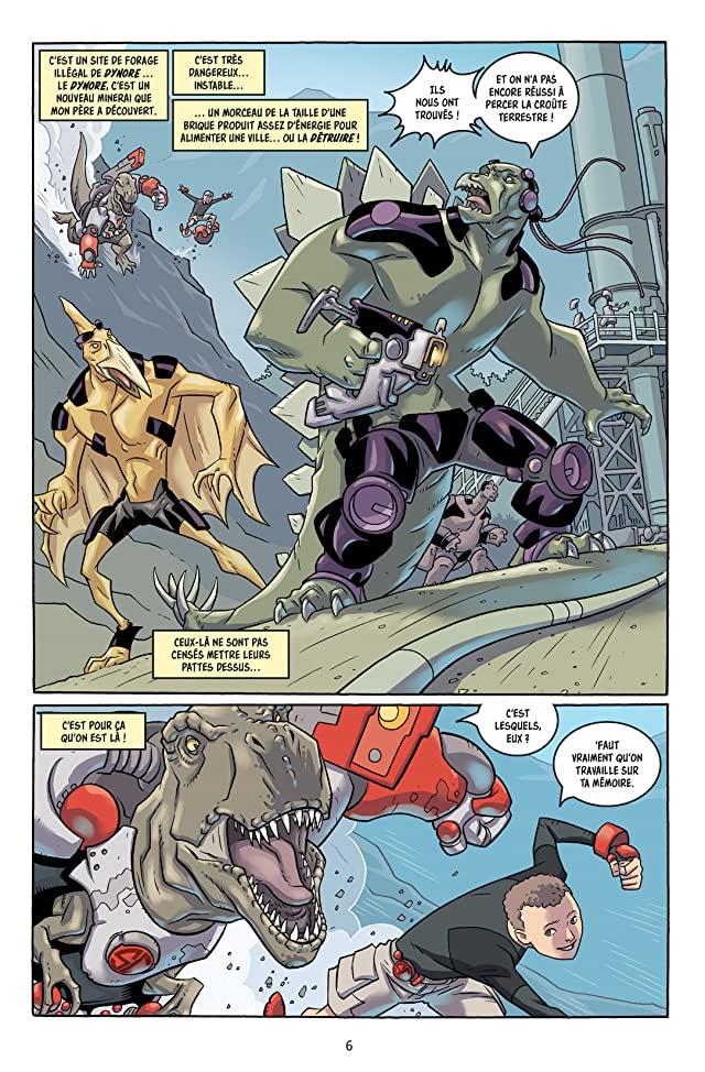 click for super-sized previews of Super dinosaure Vol. 1