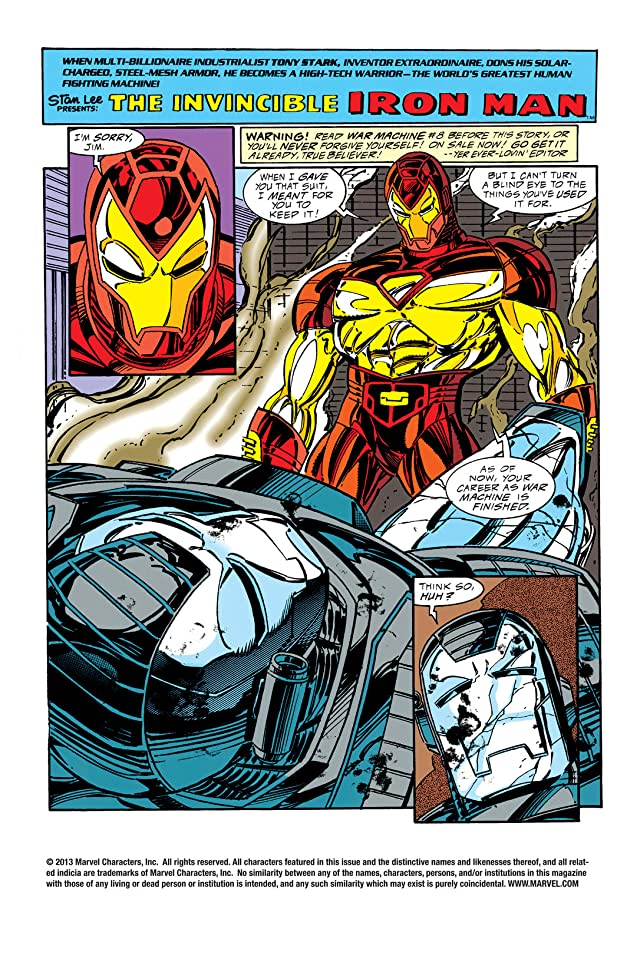 click for super-sized previews of Iron Man (1968-1996) #310