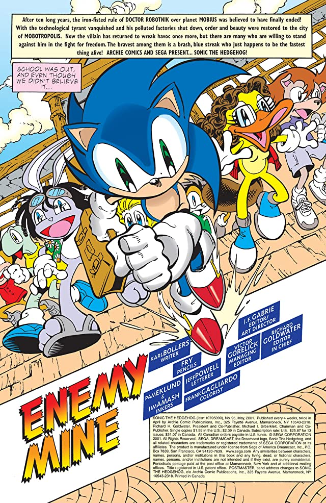 Sonic the Hedgehog #95