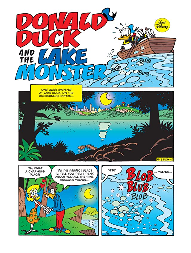 click for super-sized previews of Donald Duck and the Lake Monster