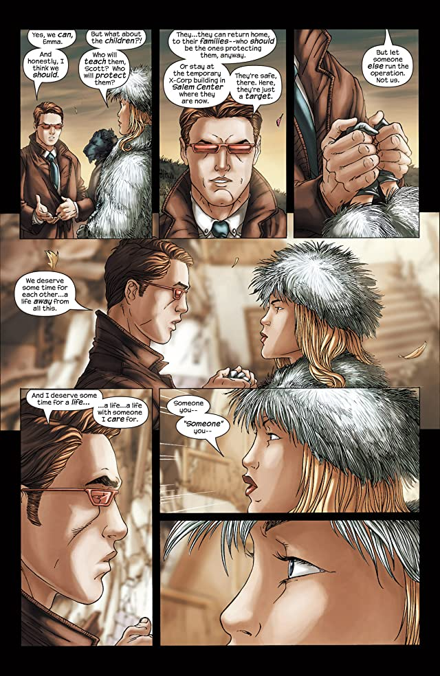 click for super-sized previews of New X-Men (2001-2004) #155