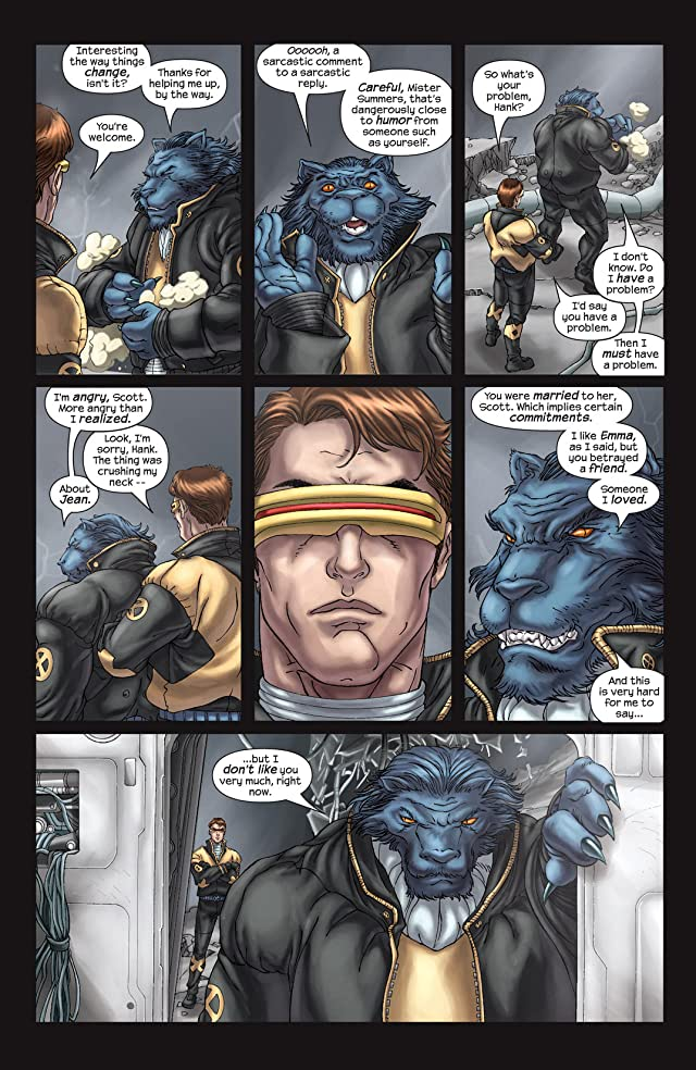 click for super-sized previews of New X-Men (2001-2004) #156