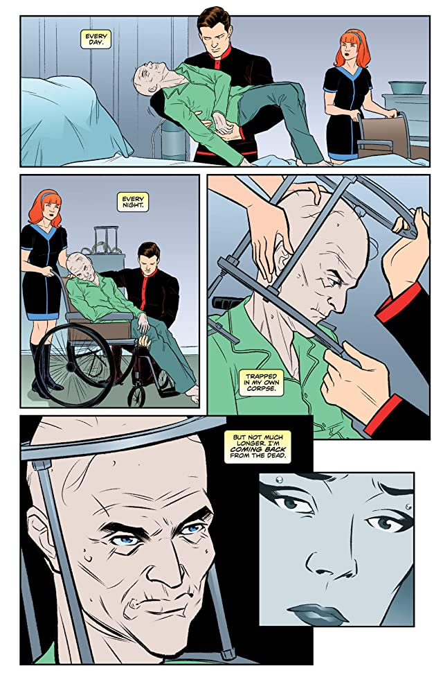 click for super-sized previews of Steed and Mrs. Peel: Ongoing #8