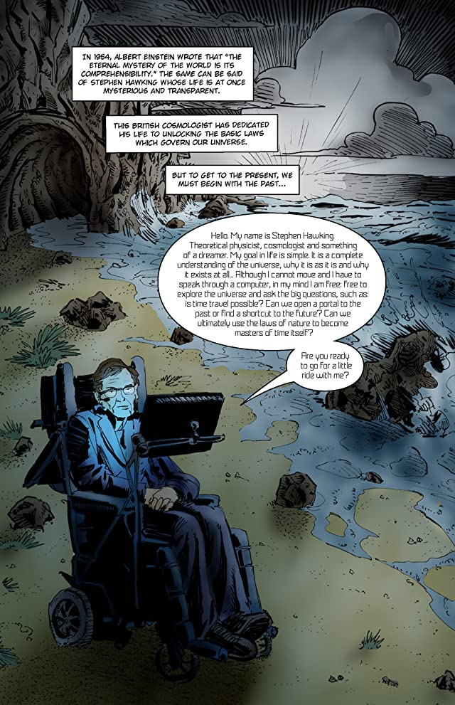 click for super-sized previews of Orbit: Stephen Hawking: Riddles of Time & Space
