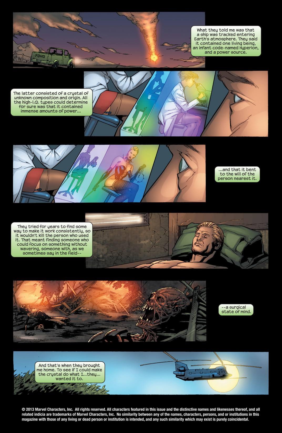 Doctor Spectrum #1 (of 6)