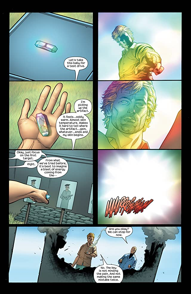 click for super-sized previews of Doctor Spectrum #1 (of 6)