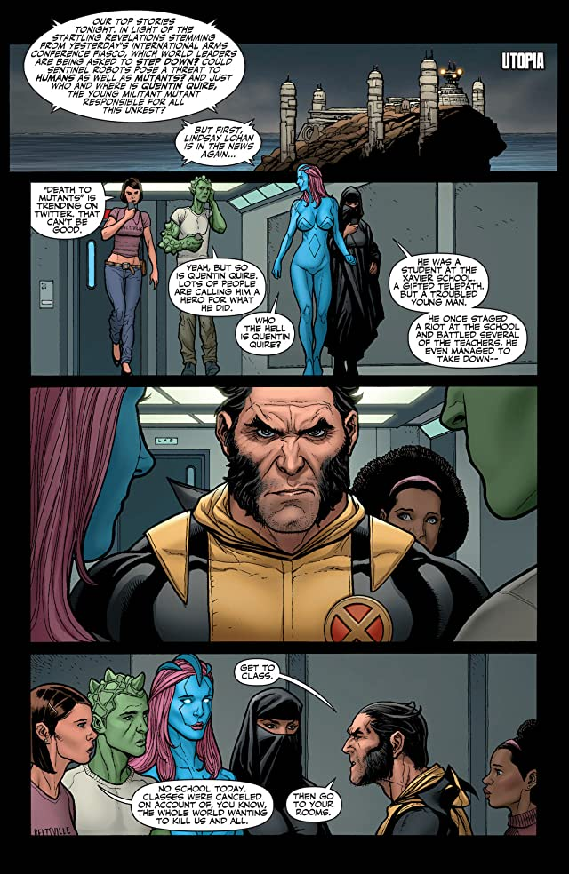 click for super-sized previews of X-Men: Schism #2