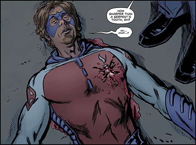 click for super-sized previews of Insufferable #8
