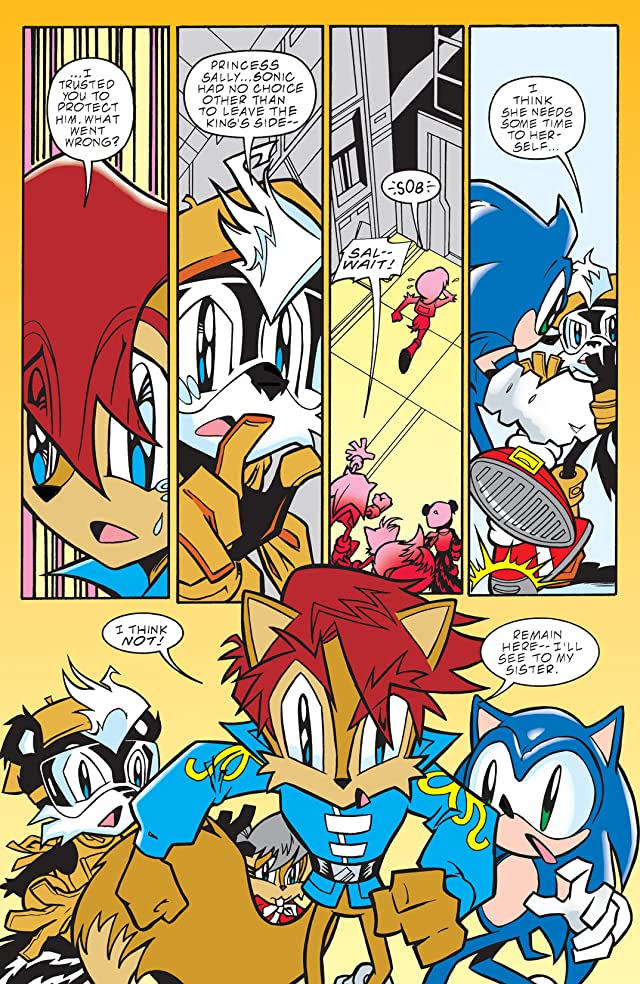 click for super-sized previews of Sonic the Hedgehog #89