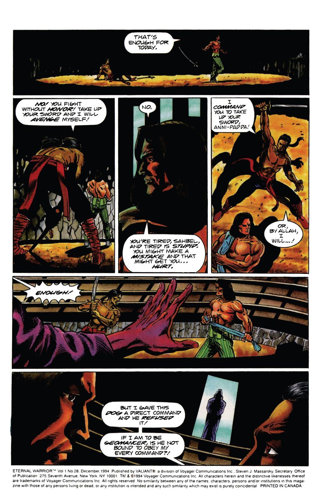 Eternal Warrior (1992-1996) #28