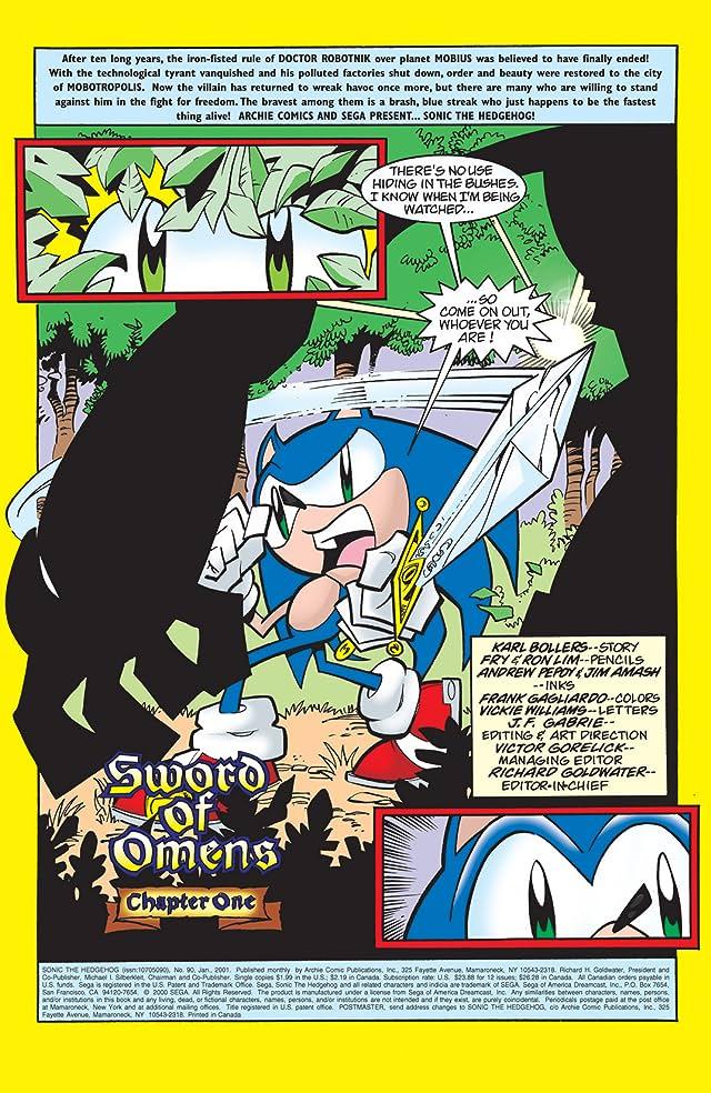 Sonic the Hedgehog #90
